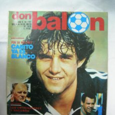 Coleccionismo deportivo: REVISTA DON BALON - MAYO 1979 Nº 187 - POSTER COLOR DEL AT. MADRID 78-79, PEREIRA, RUBEN CANO,....... Lote 30807745