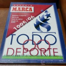 Coleccionismo deportivo: ANUARIO MARCA .-DEPORTE A DEPORTE DIA A DIA 1995/96. Lote 30825335