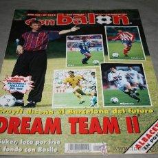 Coleccionismo deportivo: REVISTA FÚTBOL DON BALÓN Nº 1012 MARZO 1995 POSTER ALBACETE 94-95. Lote 30889301