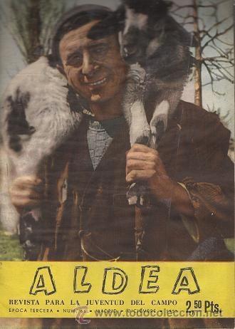 ALDEA (REVISTA PARA LA JUVENTUD DEL CAMPO) DICIEMBRE 1955 (Coleccionismo Deportivo - Revistas y Periódicos - Marca)