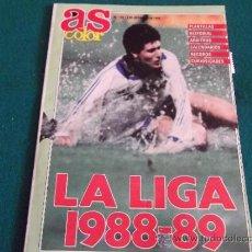 Coleccionismo deportivo: AS COLOR-SUPLEMENTO Nº136-SEP 1988-LA LIGA 1988-89-28X21CM-70 PAGINAS. Lote 31106834