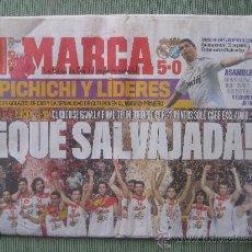 Coleccionismo deportivo: DIARIO MARCA, 21 SEPTIEMBRE DE 2009,ESPAÑA CAMPEONA DE EUROPA DE BALONCESTO. Lote 37898443