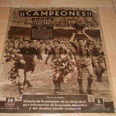 Coleccionismo deportivo: PERIODICO VIDA DEPORTIVA BARCELONA CAMPEÓN LIGA 59-60. Lote 31183407