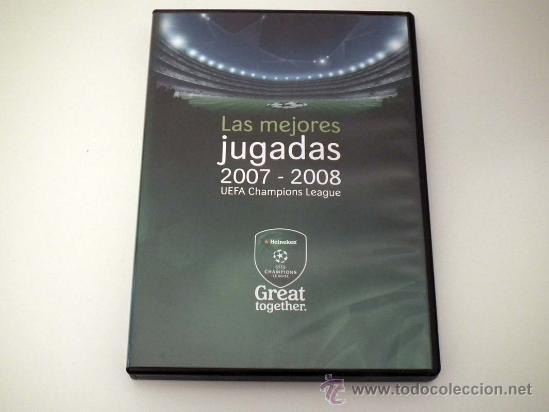 DVD UEFA CHAMPIONS LEAGUE.LAS MEJORES JUGADAS 2007-08 (Coleccionismo Deportivo - Revistas y Periódicos - Marca)