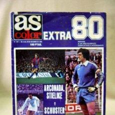 Coleccionismo deportivo: REVISTA, AS COLOR, EXTRA 80, ARCONADA, SHUSTER, 1980. Lote 31237876