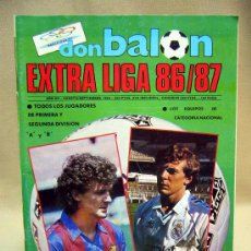 Coleccionismo deportivo: REVISTA, DON BALON, EXTRA LIGA 86-87, EDITA GRADESA, POSTER CALENDARIO LIGA. Lote 31311850