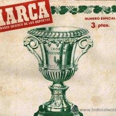 Coleccionismo deportivo: REVISTA MARCA - DICIEMBRE 1948 - Nº ESPECIAL MARTINI ROSSI. Lote 31708621