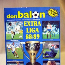 Coleccionismo deportivo: REVISTA DEPORTIVA, FUTBOL, DON BALON, EXTRA LIGA 88 - 89, Nº 16. Lote 31377224