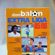 Coleccionismo deportivo: REVISTA DEPORTIVA, FUTBOL, DON BALON, EXTRA LIGA 85 - 86, Nº 8, POSTER CENTRAL CADIZ. Lote 31377260