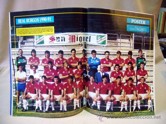 Coleccionismo deportivo: REVISTA DEPORTIVA, FUTBOL, DON BALON, Nº 808, EL BARÇA A POR MANOLO, 1991, POSTER REAL BURGOS - Foto 2 - 31377362