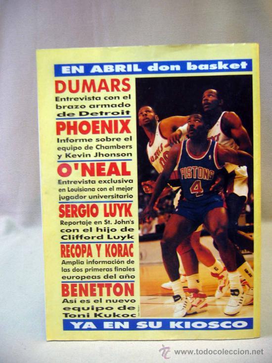 Coleccionismo deportivo: REVISTA DEPORTIVA, FUTBOL, DON BALON, Nº 808, EL BARÇA A POR MANOLO, 1991, POSTER REAL BURGOS - Foto 4 - 31377362