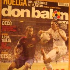 Coleccionismo deportivo: REVISTA DON BALON Nº 1868 EL CLASICO SUPERCOPA DE ESPAÑA 2011. Lote 31602042