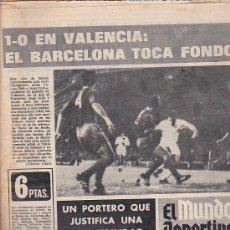 Coleccionismo deportivo: EL MUNDO DEPORTIVO 22-11-1971. Lote 31610979