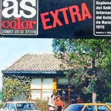 Coleccionismo deportivo: REVISTA AS COLOR Nº SUPLEMENTO DEL SALON ATUMOVIL BARCELONA 1975. Lote 31612345