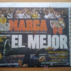 Coleccionismo deportivo: DIARIO MARCA - REAL MADRID CAMPEON DE LA LIGA 2011-2012 - ALIRON 11 12 - NUEVO - . Lote 117136134