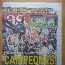Coleccionismo deportivo: DIARIO AS - REAL MADRID CAMPEON DE LA LIGA 2011-2012 - ALIRON 11 12 - NUEVO - . Lote 95953615