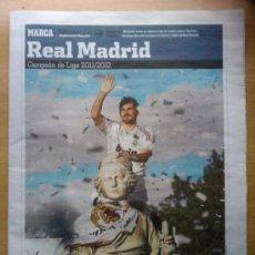 Coleccionismo deportivo: DIARIO MARCA - SUPLEMENTO ESPECIAL REAL MADRID CAMPEON DE LA LIGA 2011-2012 -EXTRA 11 12 - . Lote 31642300