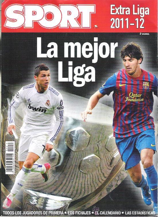 1 REVISTA ESPECIAL - EXTRA LIGA 2011-12 ( 2011-2012 ) - SPORT ( ANUARIO O GUIA ) (Coleccionismo Deportivo - Revistas y Periódicos - Sport)