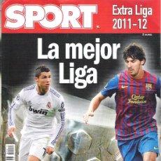 Coleccionismo deportivo: 1 REVISTA ESPECIAL - EXTRA LIGA 2011-12 ( 2011-2012 ) - SPORT ( ANUARIO O GUIA ). Lote 31647427