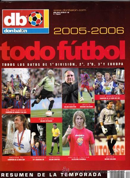 DON BALON TODO FUTBOL -2005-2006 (Coleccionismo Deportivo - Revistas y Periódicos - Don Balón)