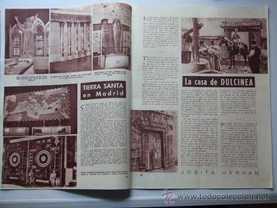 Coleccionismo deportivo: SENDA / REVISTA PARA LA MUJER / AÑO 1954 N.7 / TIERRA SANTA / VACACIONES ROMANAS/ AZAFATAS - Foto 2 - 31695627