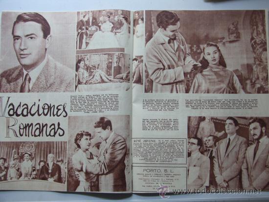 Coleccionismo deportivo: SENDA / REVISTA PARA LA MUJER / AÑO 1954 N.7 / TIERRA SANTA / VACACIONES ROMANAS/ AZAFATAS - Foto 3 - 31695627