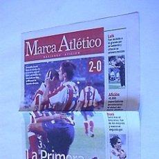 Coleccionismo deportivo: SUPLEMENTO PERIODICO MARCA ATLETICO (26 AGOSTO 2001). Lote 31775080