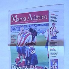 Coleccionismo deportivo: SUPLEMENTO PERIODICO MARCA ATLETICO (27 AGOSTO 2001). Lote 31775092