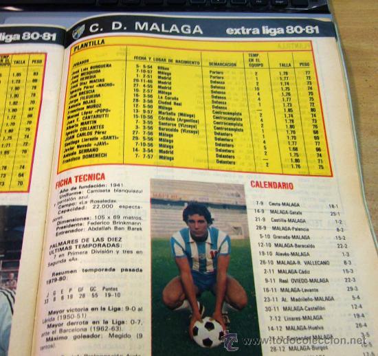 Coleccionismo deportivo: REVISTA, DON BALON, LIGA 80-81, EXTRA, EDITA GRADESA - Foto 6 - 27952726