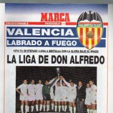 Colecionismo desportivo: FASCICULO Nº 10 VALENCIA LABRADO A FUEGO (LA LIGA DE DON ALFREDO). Lote 31832687