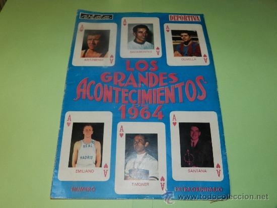 (M-21) VIDA DEPORTIVA NUMERO EXTRAORDINARIO , LOS GRANDES ACONTECIMIENTOS DE 1964 - MUY ILUSTRADO (Coleccionismo Deportivo - Revistas y Periódicos - Vida Deportiva)
