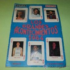 Coleccionismo deportivo: (M-21) VIDA DEPORTIVA NUMERO EXTRAORDINARIO , LOS GRANDES ACONTECIMIENTOS DE 1964 - MUY ILUSTRADO. Lote 32044052
