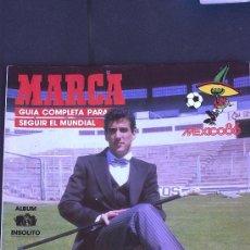 Coleccionismo deportivo: &-REVISTA GUÍA O EXTRA DE MARCA DEL MUNDIAL DE MEJICO 86 COPA DEL MUNDO MEXICO 1986. Lote 32077185