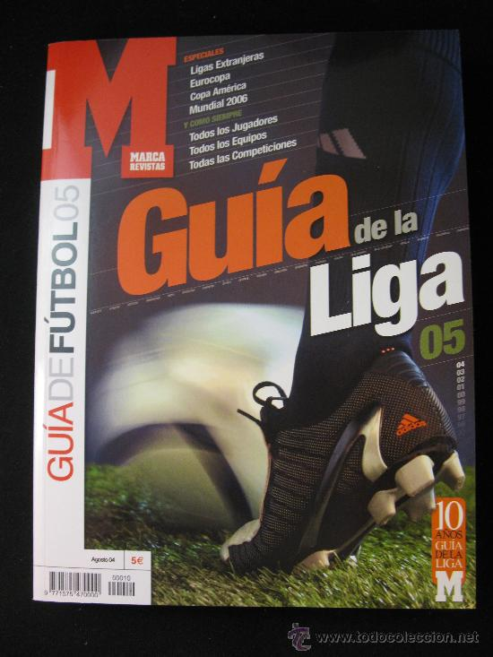 GUIA MARCA LIGA FUTBOL TEMPORADA 2004-2005 (Coleccionismo Deportivo - Revistas y Periódicos - Marca)