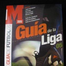 Colecionismo desportivo: GUIA MARCA LIGA FUTBOL TEMPORADA 2004-2005. Lote 32962475