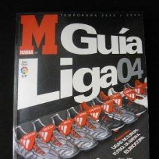 Colecionismo desportivo: GUIA MARCA LIGA FUTBOL TEMPORADA 2003-2004. Lote 32962462