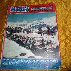 Coleccionismo deportivo: MARCA. Nº EXTRAORDINARIO DE NAVIDAD, DICIEMBRE 1960 *. Lote 32209046