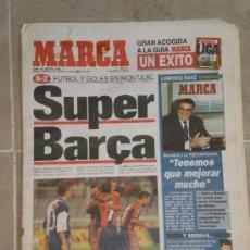 Coleccionismo deportivo: PERIODICO MARCA , 26 DE AGOSTO 1996 . . Lote 32284622