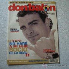 Coleccionismo deportivo: DON BALON 2004 FINAL COPA DEL REY,ZARAGOZA CAMPEON. Lote 32310414
