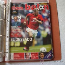 Coleccionismo deportivo: DON BALON 2003 N 1434 CON POSTER DE AIMAR. Lote 32340076