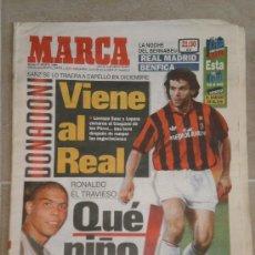 Coleccionismo deportivo: PERIODICO MARCA , 27 DE AGOSTO 1996 . . Lote 32310971