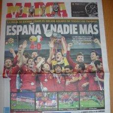 Coleccionismo deportivo: ESPAÑA CAMPEÓN DE EUROPA - MARCA - 2 JULIO 2012 NUEVO - NEW. Lote 111694479