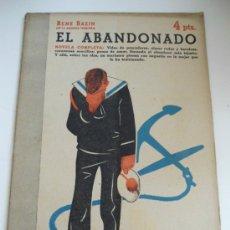 Coleccionismo deportivo: EL ABANDONADO . RENE BAZIN . REVISTA LITERARIA NOVELAS Y CUENTOS Nº 960 . 1949. Lote 32406130