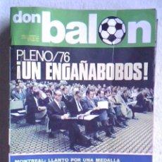 Coleccionismo deportivo: REVISTA DON BALON Nº 41 - 1976 - . Lote 32452231
