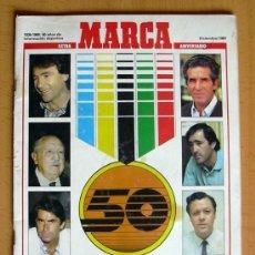Coleccionismo deportivo: MARCA EXTRA 50 ANIVERSARIO - HOMENAJE A LOS HOMBRES DE ORO DEL DEPORTE ESPAÑOL. Lote 32753353