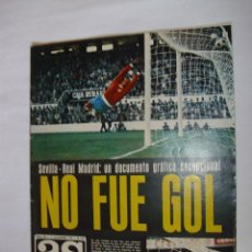Collectionnisme sportif: AS COLOR Nº234 (11 NOVIEMBRE 1975) INCLUYE POSTER AD RAYO VALLECANO 75-76. Lote 141839584