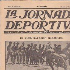 Coleccionismo deportivo: REVISTA JORNADA DEPORTIVA 23 JUNIO 1922. Lote 32944990