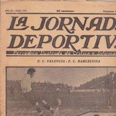 Coleccionismo deportivo: REVISTA JORNADA DEPORTIVA 8 OCTUBRE 1923. Lote 32945049