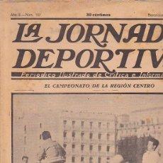 Coleccionismo deportivo: REVISTA JORNADA DEPORTIVA 15 MARZO 1923. Lote 32945112