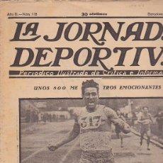 Coleccionismo deportivo: REVISTA JORNADA DEPORTIVA 20 JULIO 1923. Lote 32945222